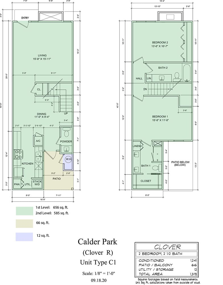 P:Projects20003 Calders Corner Townhomes3. DRAWINGS3.1. Arch